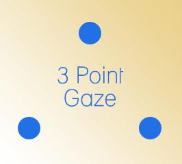3 Point Gaze
