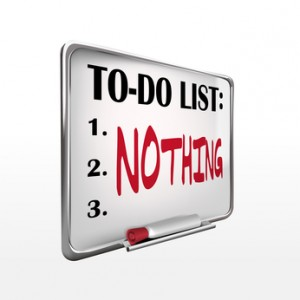 Do Nothing!
